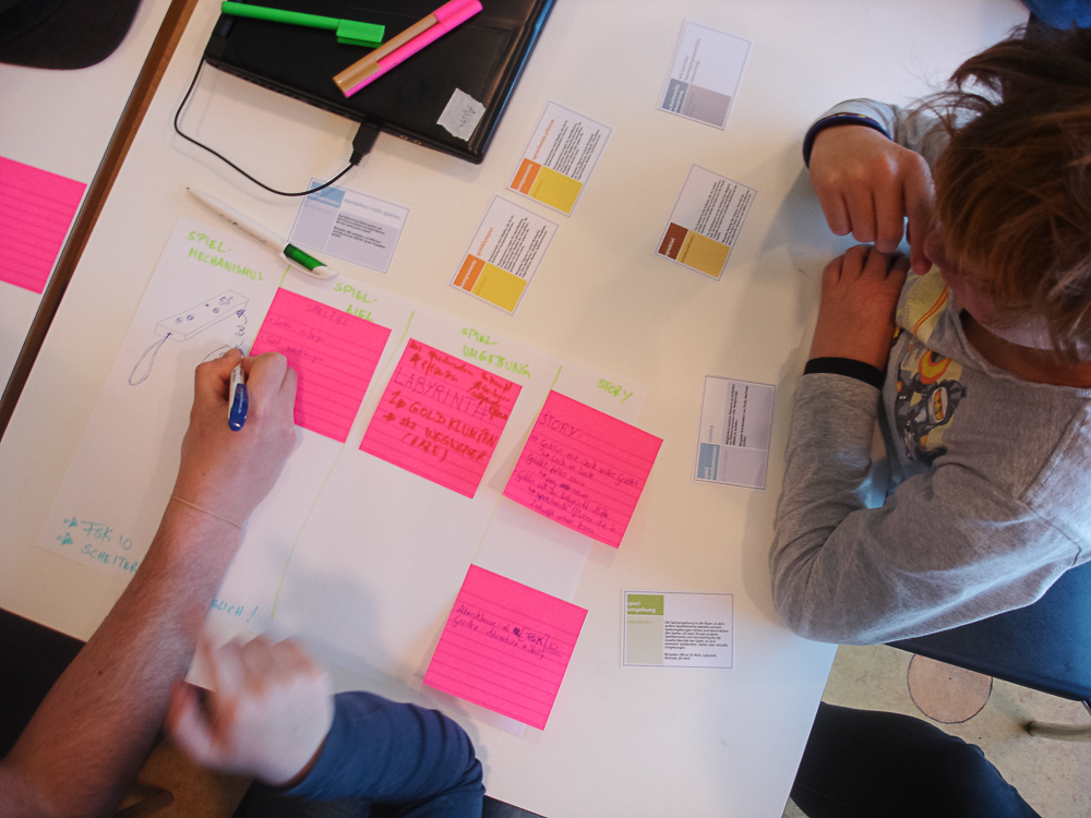 Workshop Game Design in Jena